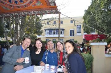 Visiting the Fair Trade Christmas Bazaar